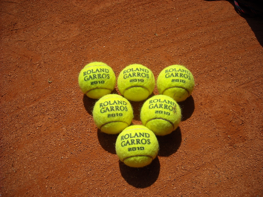 Tennis Balls at Roland Garros